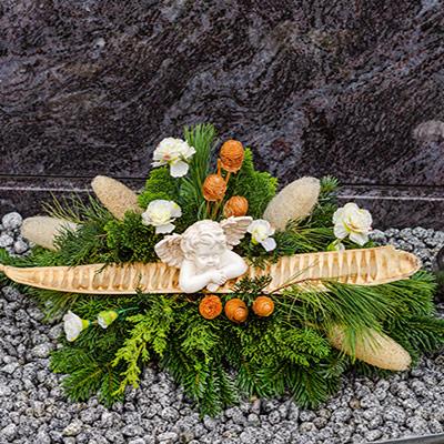 Allerheiligengestecke bei Blumen Weisz in Hietzing